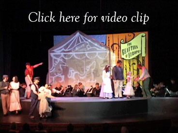 Rodgers and Hammerstein's Carousel set design Carousel set rental