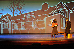Fiddler On The Roof set design and projections rental