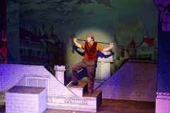 Mary Poppins set design and projections rental